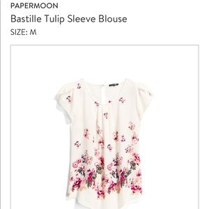 Papermoon Floral top